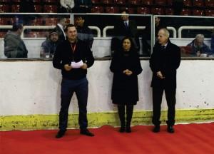 Откриване на Световно първенство по хокей на лед