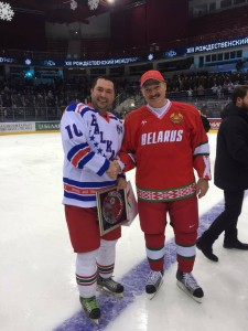 Мартин Миланов игра хокей с Путин и Лукашенко