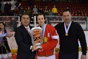 Спечелихме бронзов медал на Световното по хокей на лед в III дивизия